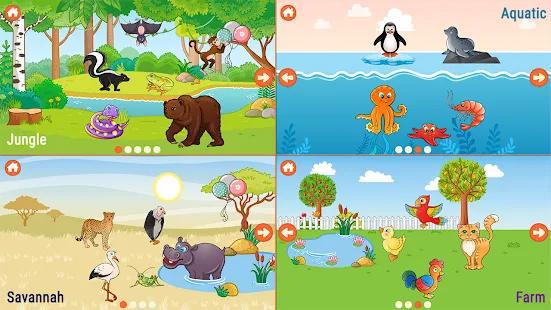 Bambini gioco di puzzle - Gioco di animali