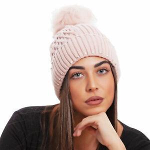 Cappello cappellino donna kawaii berretto tricot pompon ponpon TOOCOOL MZ-2242
