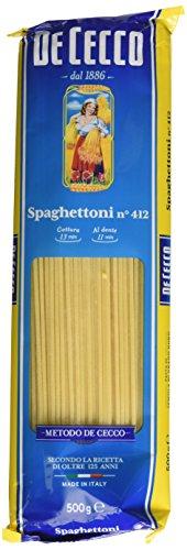 4 x 500 g - De Cecco Spaghettoni n° 412
