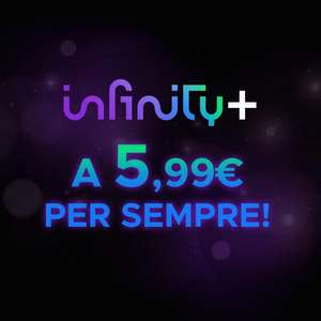 Infinity+ a 5,99 al mese per sempre
