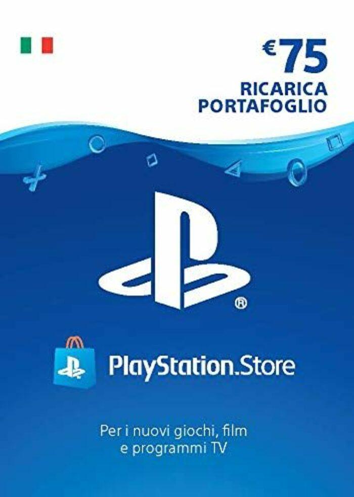 PlayStation Network Card 75 EUR (IT) PSN Key ITALY