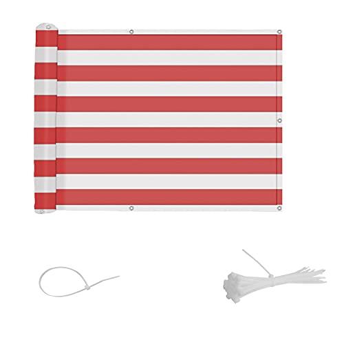Copertura per Balcone frangivento con Fascette, 75x300cm