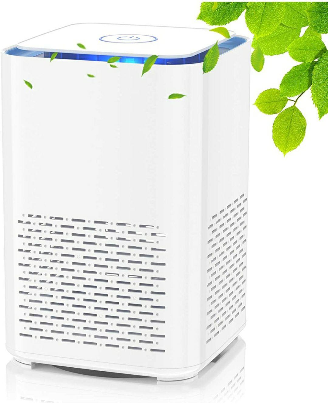 Purificatore d'aria con vero filtro HEPA e filtro a Carbone attivo