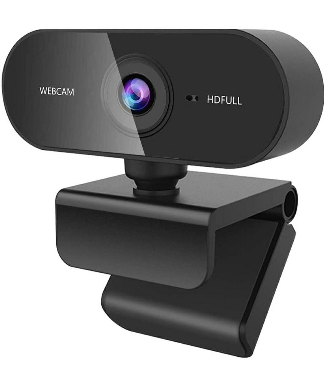 Guijiyi Webcam per PC, Full HD Webcam 1080p