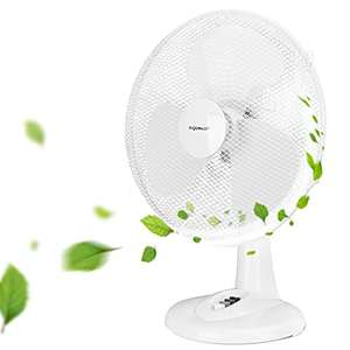 Aigostar Allace 33JTO - Ventilatore da tavolo, silenzioso