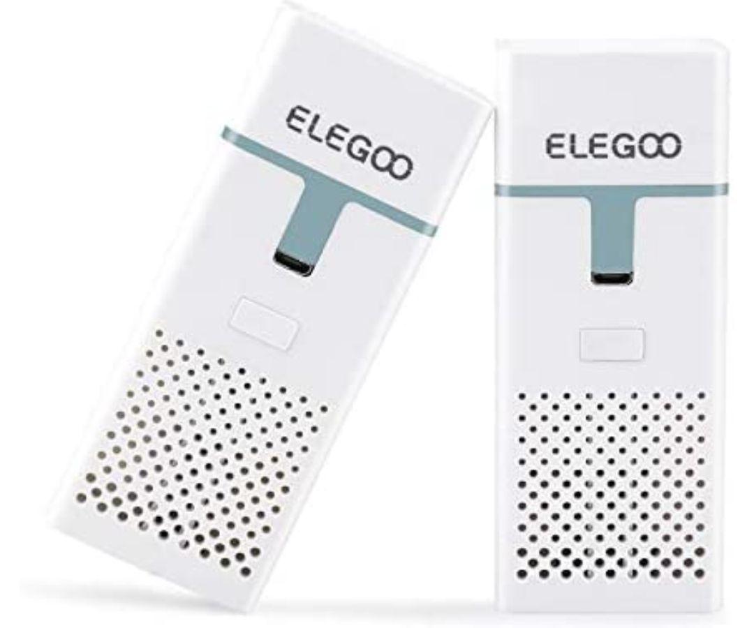 Mini purificatore d'aria con filtro a carboni attivi (Pacchetto da 2)