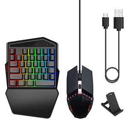 Tastiera ergonomica Portatile Professionale Durevole Compatibile Tastiera Wireless Tastiera e Mouse, sistemi Neri di Alta qualità o Iofs