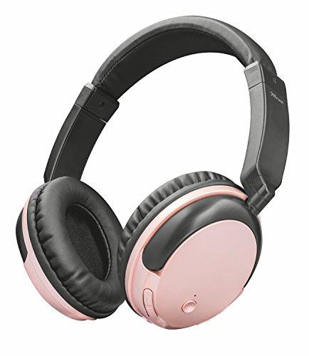 Trust Urban Kodo Cuffie Wireless Bluetooth, Oro Rosa