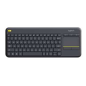 Logitech K400 Plus Tastiera Wireless