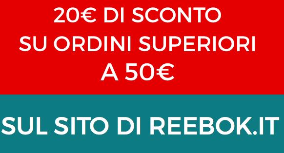20€ di sconto per ordini superiori ai 50€