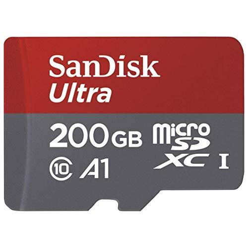 SanDisk Ultra Scheda di Memoria MicroSDXC da 200 GB e Adattatore a 29'99 anziché 86,99