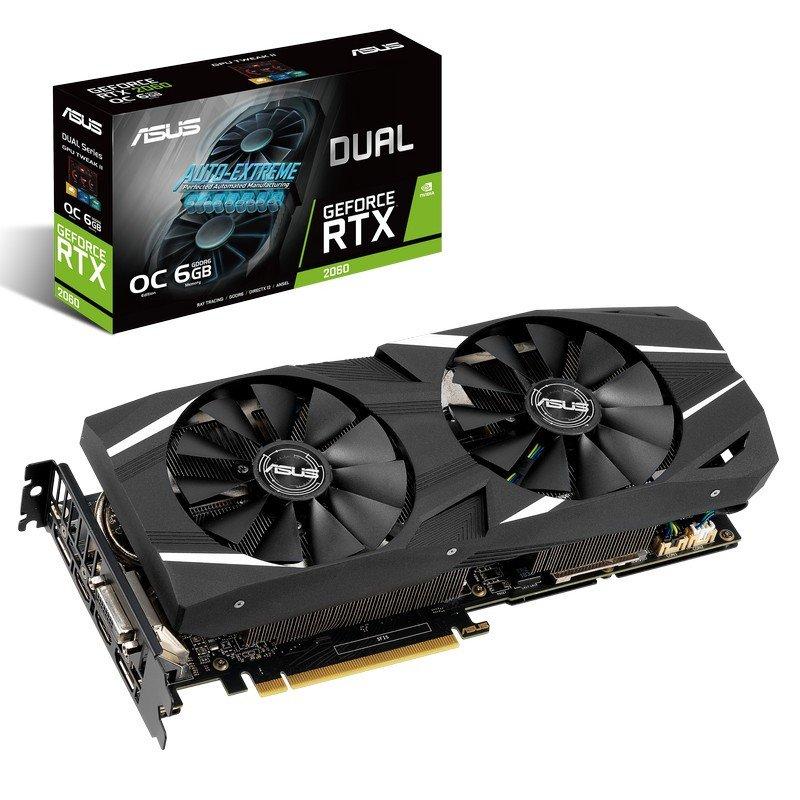 RTX 2060 ASUS 6GB 269€