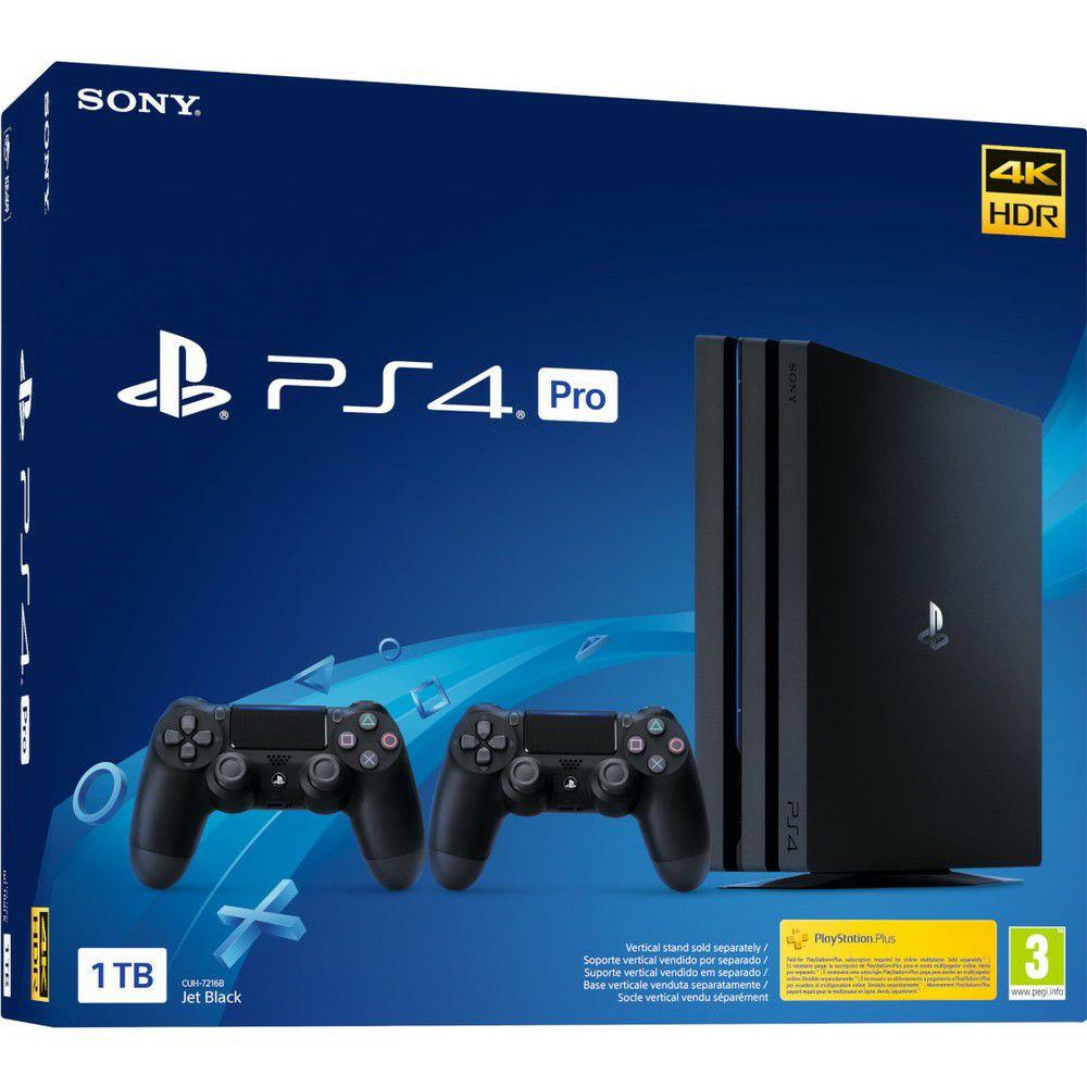 PlayStation 4 pro 1 Tera + 2 DualShock v2
