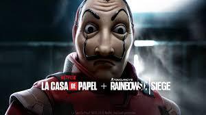 """Gioca gratuitamente - Rainbow Six Siege """"La Casa de Papel"""""""