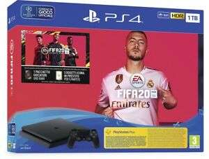 Sony Playstation 4 PS4 1TB F Slim HDR + Fifa 20