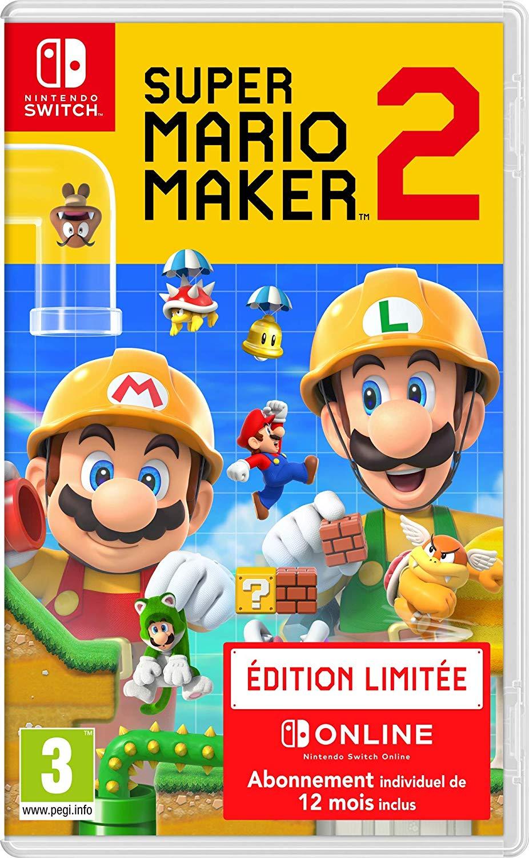 Super Mario Maker 2 +12 mesi online 46.9€
