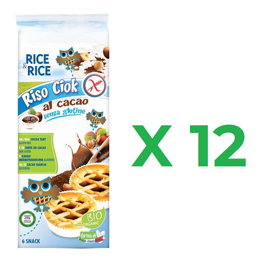 Errore di Prezzo 12 Confezioni Crostatine Riso Chiok