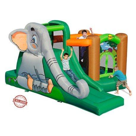 Maxii gonfiabile bambini Happy Hop- Elephant's Cave, Multicolore, 9274