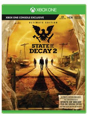 State of Decay 2 - Ultimate Edition Esclusiva GameStop - XboxONE