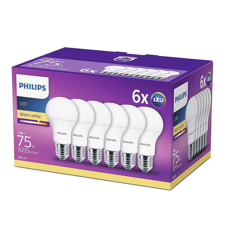 Philips LED E27 11W 14.9€