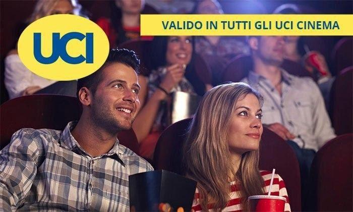 UCI Cinemas: 2 o 4 biglietti validi per le sale UCI in tutta Italia (sconto fino a 48%)