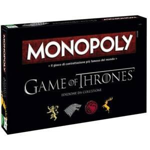 Monopoly Game of Thrones edizione da Collezione, Versione Italiana