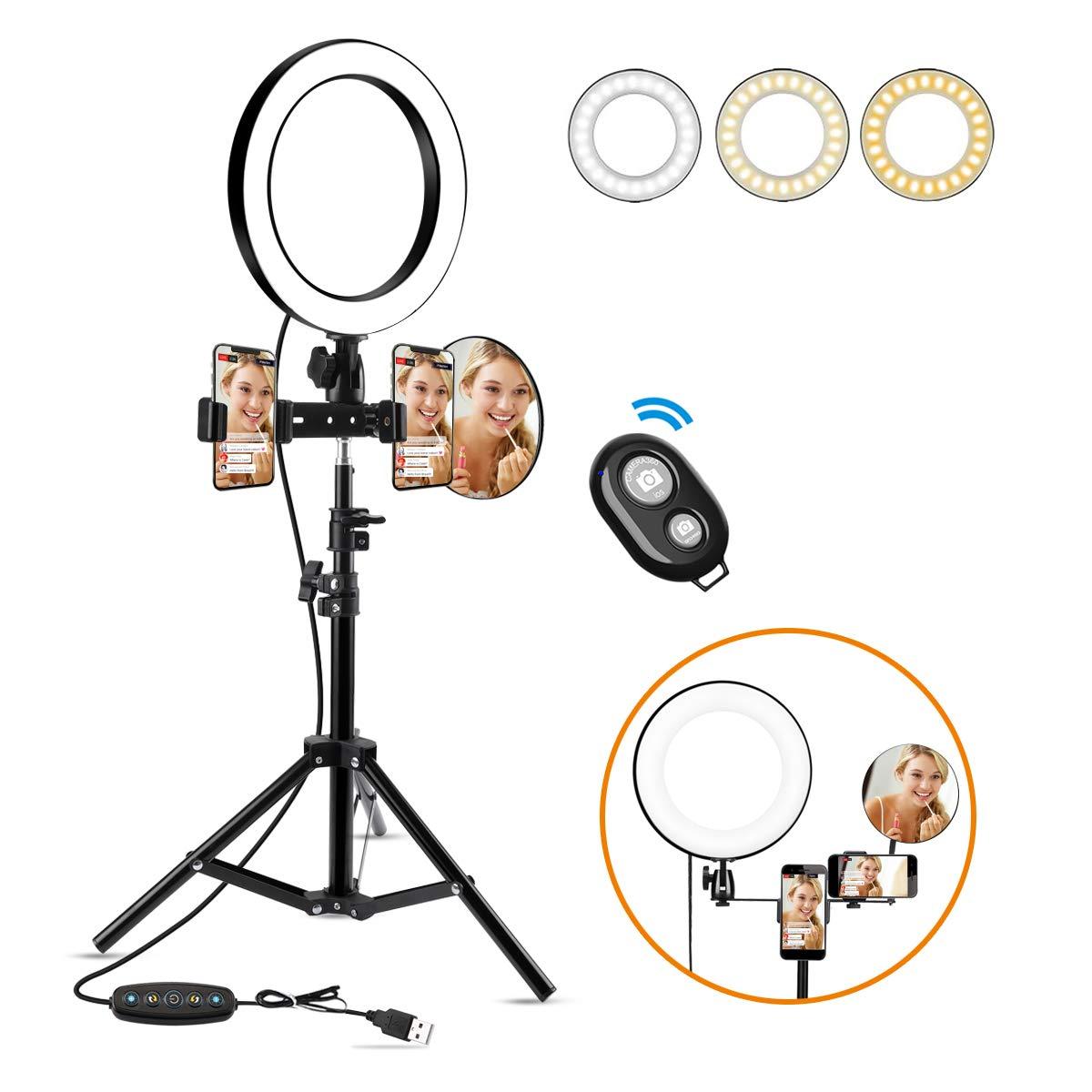 Set fotografico Luce +Treppiede e Specchio 18.4€