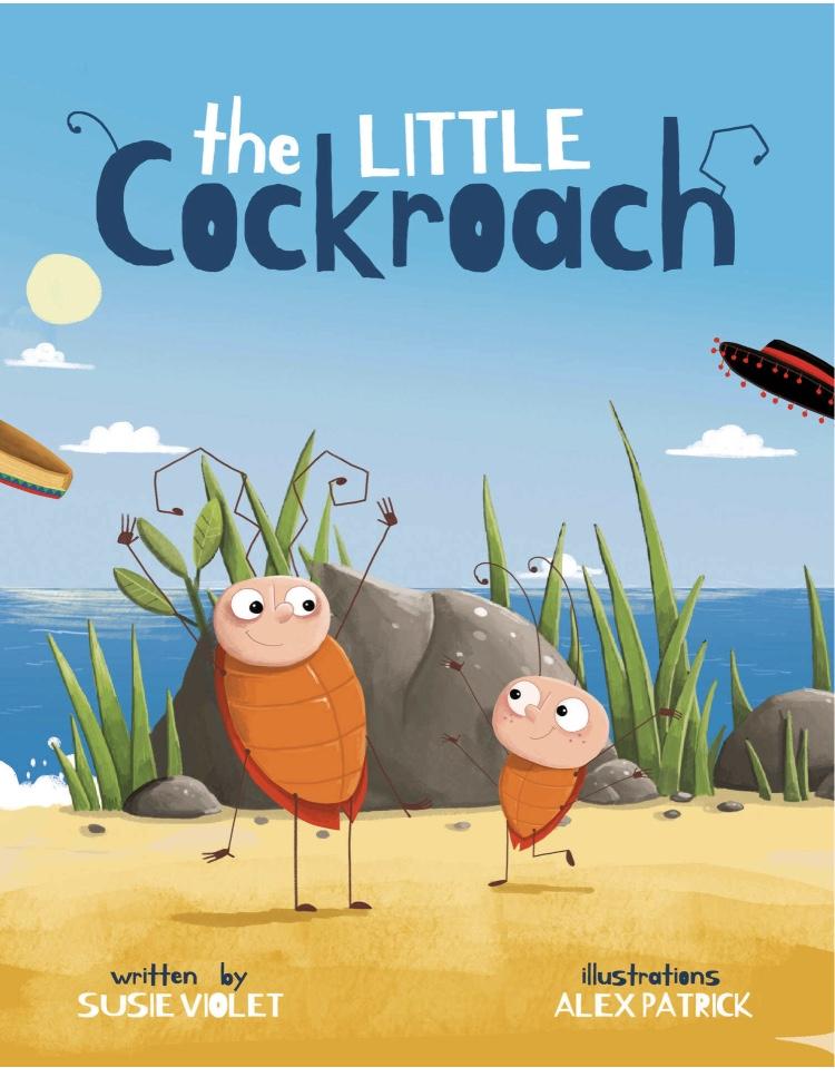 Un libro illustrato in lingua Inglese per bambini.