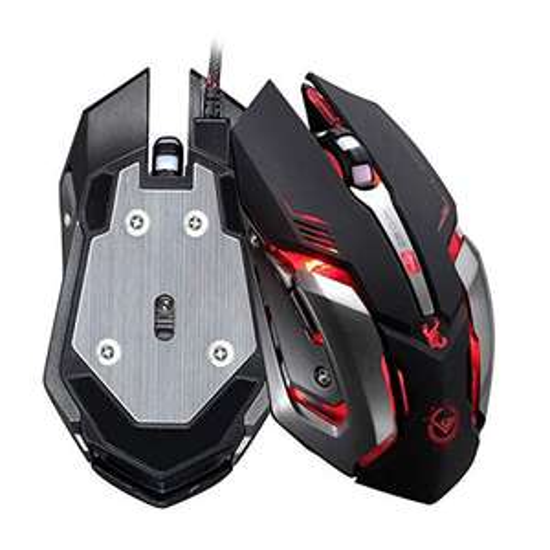 Shot Case Mouse Gamer Metallo
